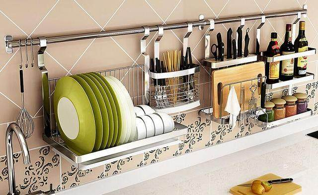 Purchase Skills and Renderings for Kitchen Stainless Steel Storage Rack