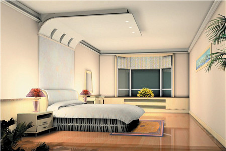 Why is There No Suspended Ceiling in the Bedroom Now? How to Make Bedroom Look Good Without the Suspended Ceiling?