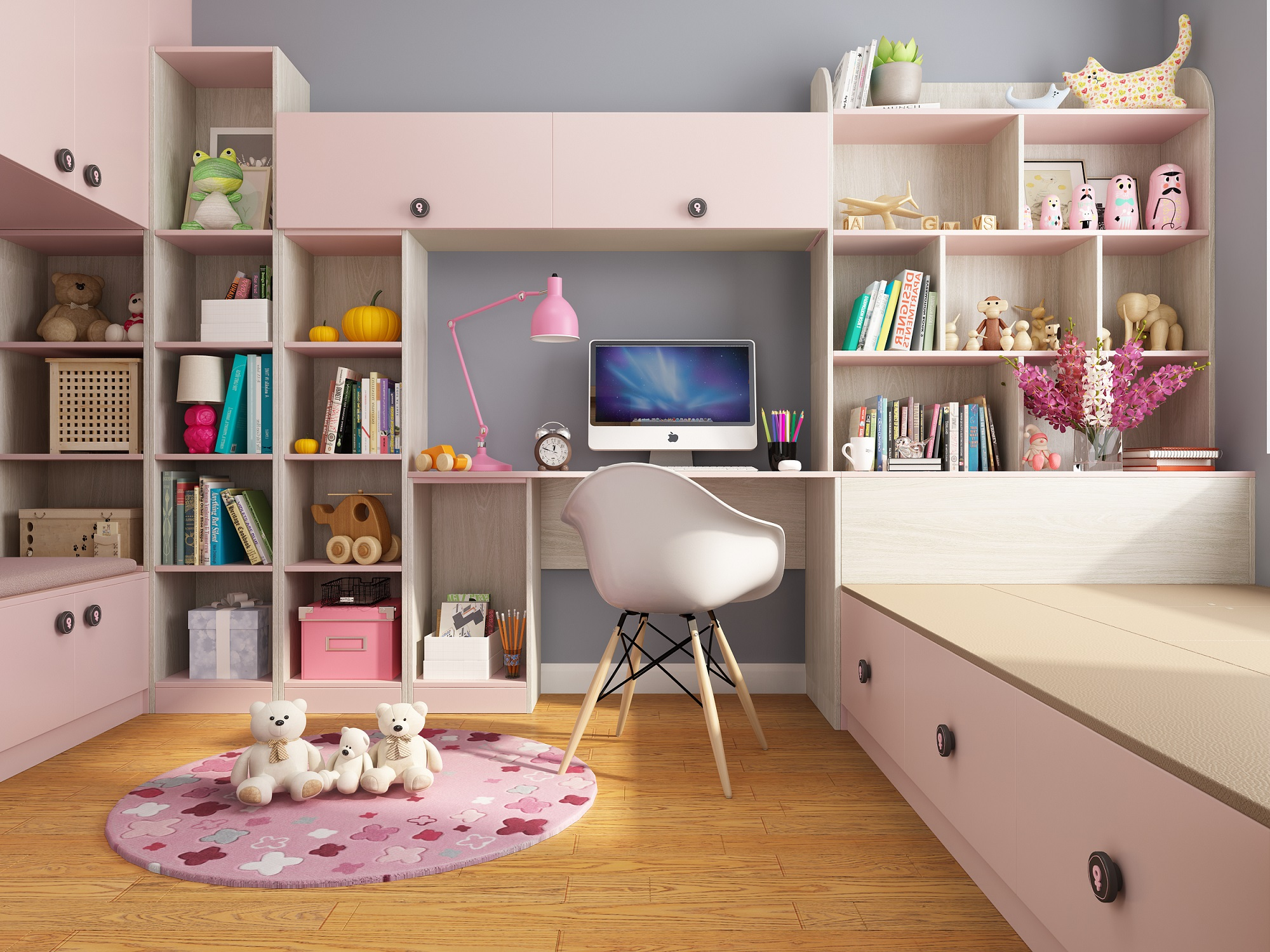 Principles of Girls' Bedroom Decoration and How to Create a Bedroom with Feminine Charm