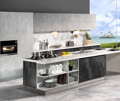 LEFT BANK STARS Kitchen Cabinets