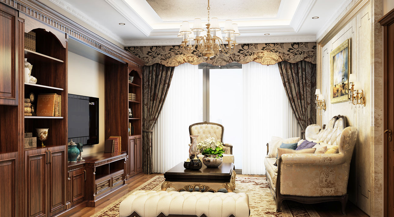 DOWNTON Living Room