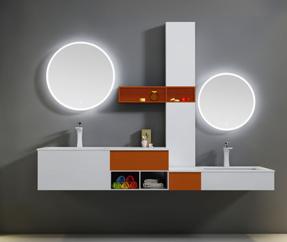 Bathroom vanity-VC0009 series