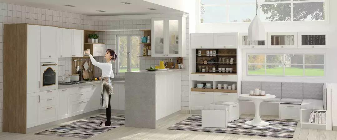 Romance Of Snimay Kitchen Cabinets