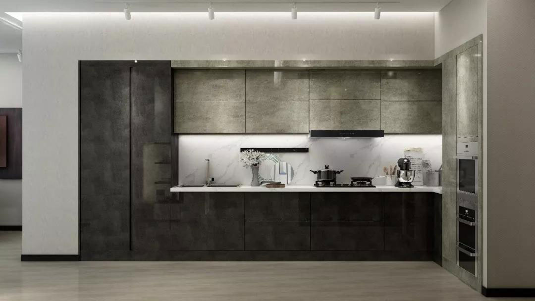 Modern European Style Kitchen Cabinets in Snimay