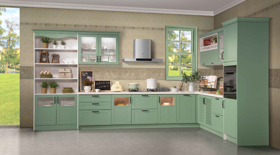 L Shaped Kitchen Cabinet Design, L Type Kitchen Cabinet Design